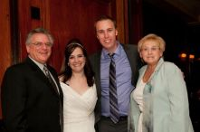 Rick and Brigitta at Our Wedding!